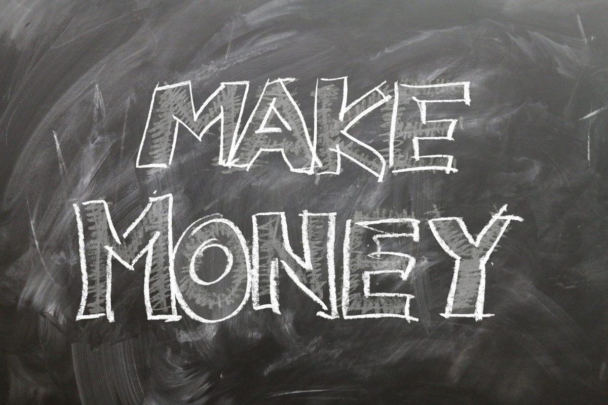 Das Einkommen und die Geldeingänge