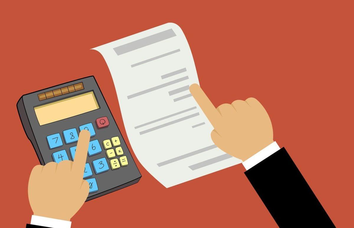 Die Fixkosten ermitteln mit einem Taschenrechner
